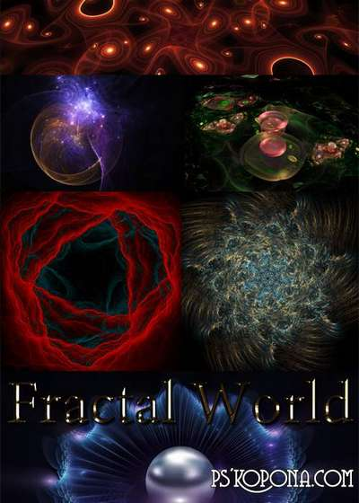 Fractal World - 10 Fractals png images download