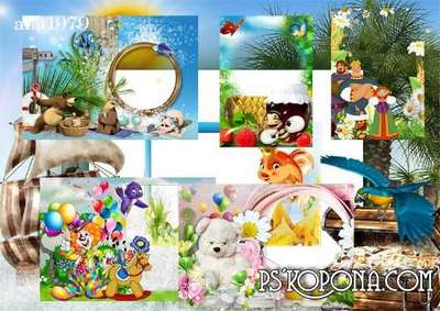 Frames in format png free download - World of fairy tales