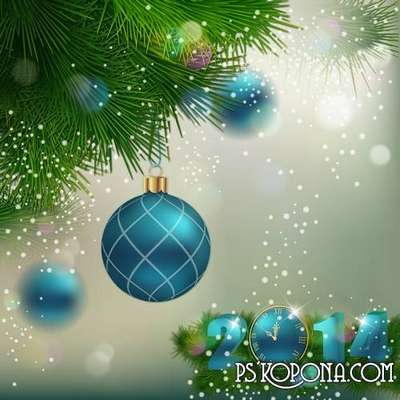 PSD source - Good New Year holiday 29