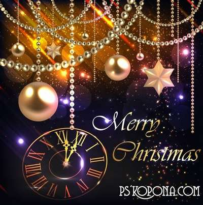 PSD source - Good New Year holiday 24