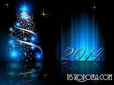 PSD source - Good New Year holiday 15