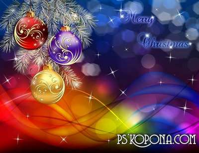 PSD source - Good New Year holiday 8