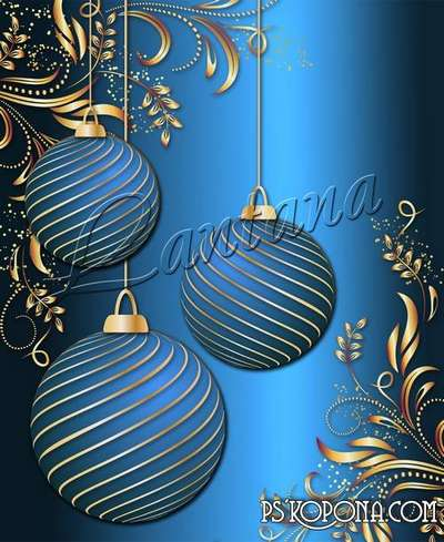 PSD source - Good New Year holiday 11