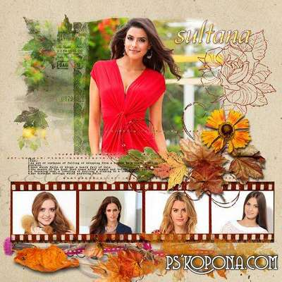 Autumn photo frame - Autumn pictures