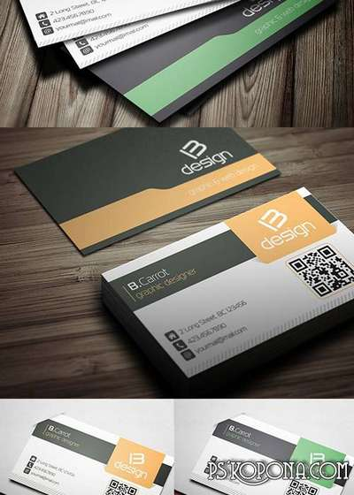 PSD - Creative Business Card Template 003