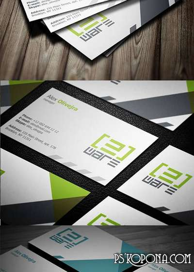 PSD - Creative Business Card Template 004