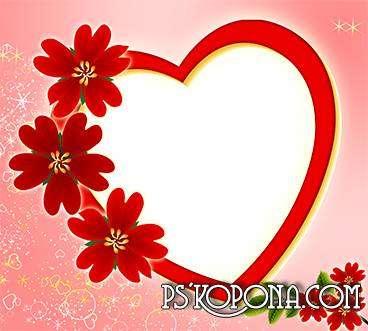 Valentine-frame - Romantic