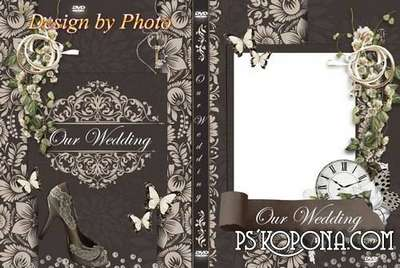 Set of two covers on DVD - Our wedding