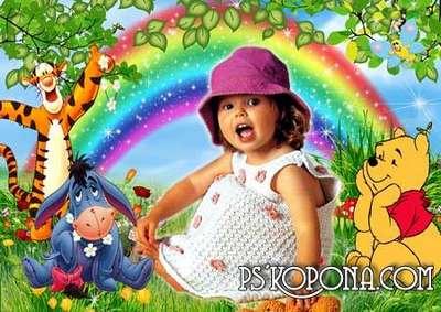 Photoframe for children - The rainbow from VARENICH