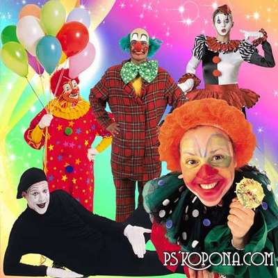 Free clowns 60 png images, mimi png clipart on a transparent background -  Free download