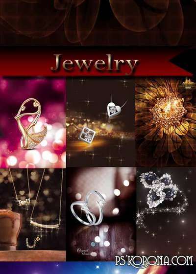Jewelry - PSD Sources
