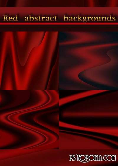 Red abstract backgrounds