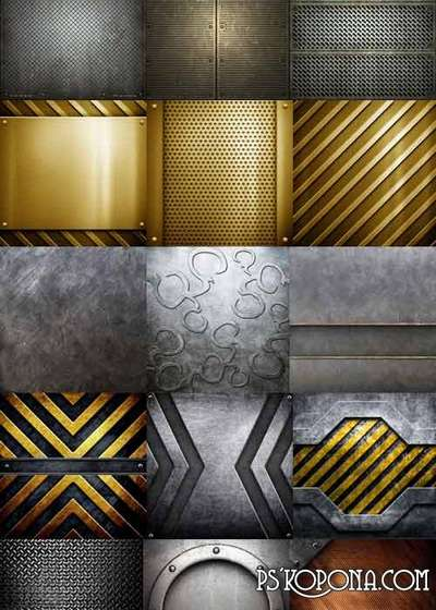 Gorgeous set of metal textures