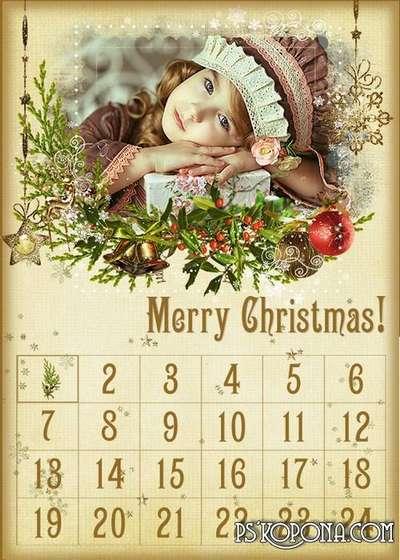 Advent Calendar - Christmas calendar for children