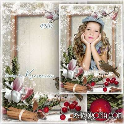 Photo frame - Winter magic