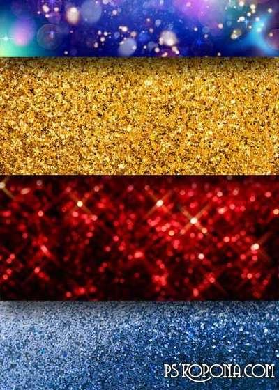 Bright shiny textures