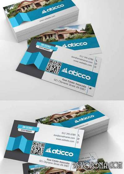 PSD - Creative Business Card Template 020