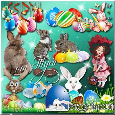 Clipart - In Easter Day special light - love and kindness dawn
