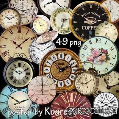 png images old clock png and vintage clock png clipart for design on a transparent background