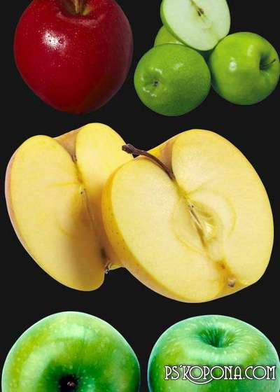 PNG clipart for Photoshop - Apples png images