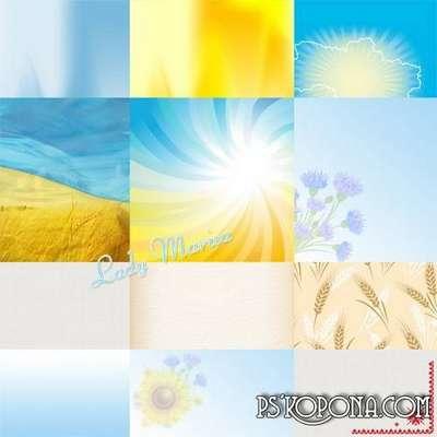 Scrap Kit - My Ukraine png images + JPEG backgrounds - Free download
