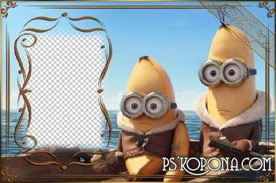 Kids frame for Photoshop - Posipaki