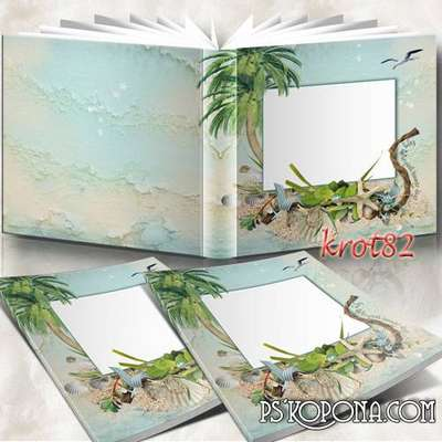 Family sea photobook template psd - We arrived at Sea