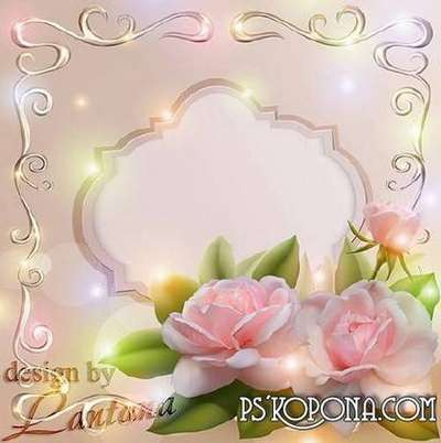 Wonderful Free Multi layered PSD source for Photoshop - beautiful rose