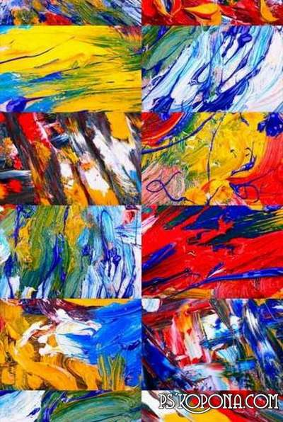 Free JPEG abstract textures for photoshop - abstraction oil painting
