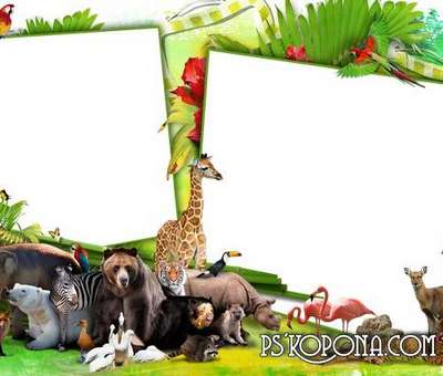 Childs photo frame – Merry Piglets