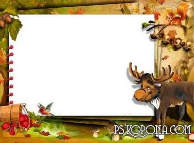 Photo frame - Forest good fairytale
