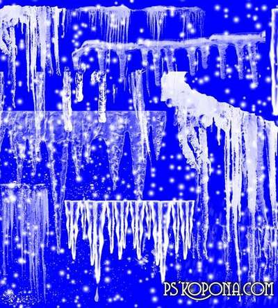Clipart png - Icicles