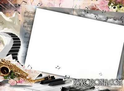 Photo frame - Beautiful melody