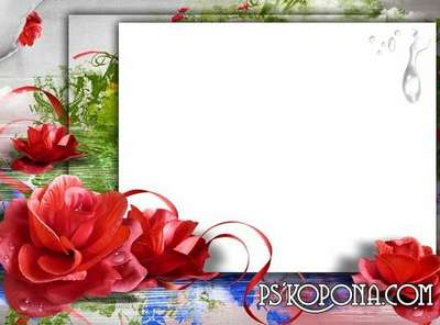 Photo frame - Tenderness flowers