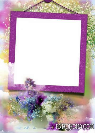 Photo frame - Scent of spring