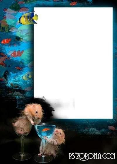Photo frame -The Ffishing
