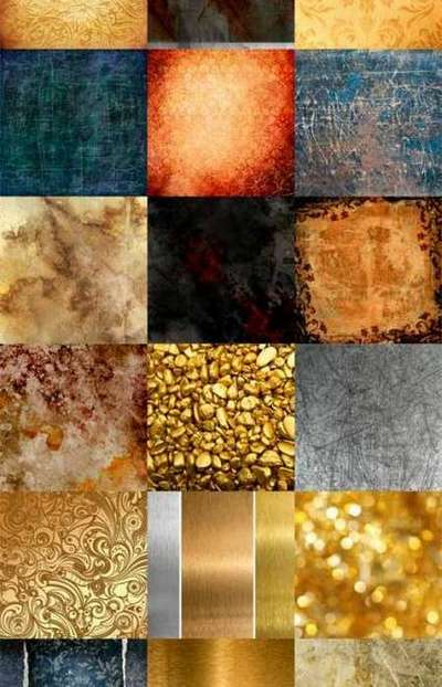 Set free JPEG textures for your design in high resolution (25 JPEG)