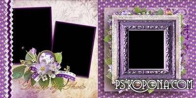 Romantic photobook template psd - Love you