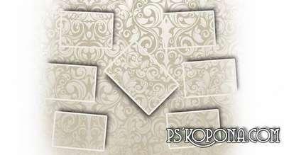 Photobook template psd for photos - Romantic