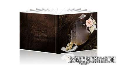 Wedding Photobook template psd - My Love