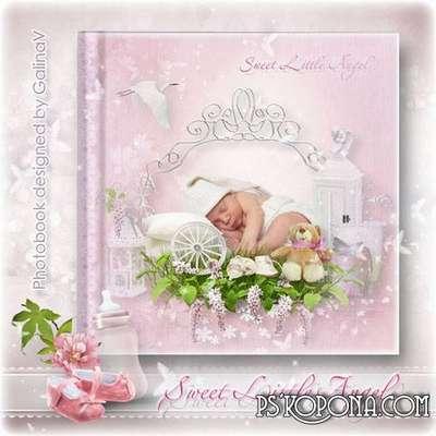Photoalbum for New Born Baby Girl - Sweet Little Angel