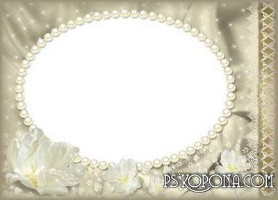Frame for Photoshop - wedding album template - Old Gold 2.