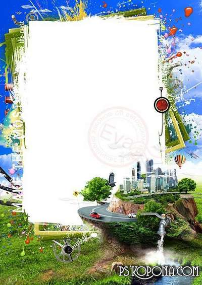 psd photo frame for mens photos on the background of nature and the city transparent png frame psd layered photo frame template download psd photo frame for mens photos on the