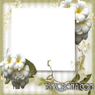 Frame for photoshop - Golden time