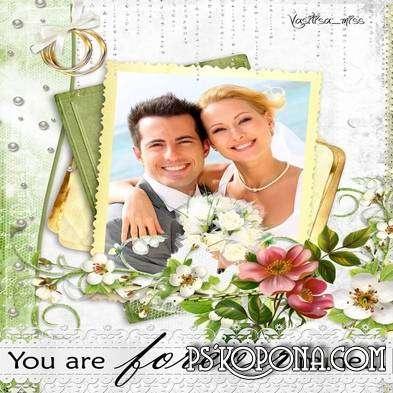 Wedding frames - Photos from memory
