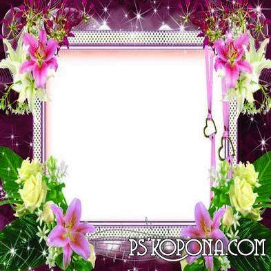 Frames for photoshop - Romantic
