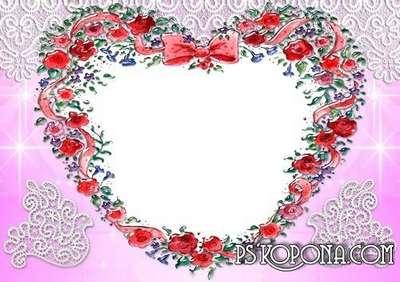 Romantic frames for photoshop 2