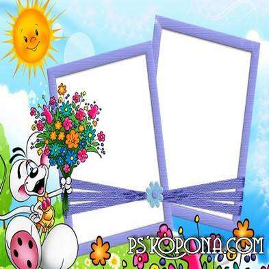 Baby photo frames 12 PNG images free download from Google Drive