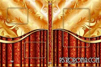 Wedding  DVD cover template - Royal wedding