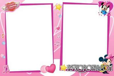 Frame for Photoshop - Minnie Mouse